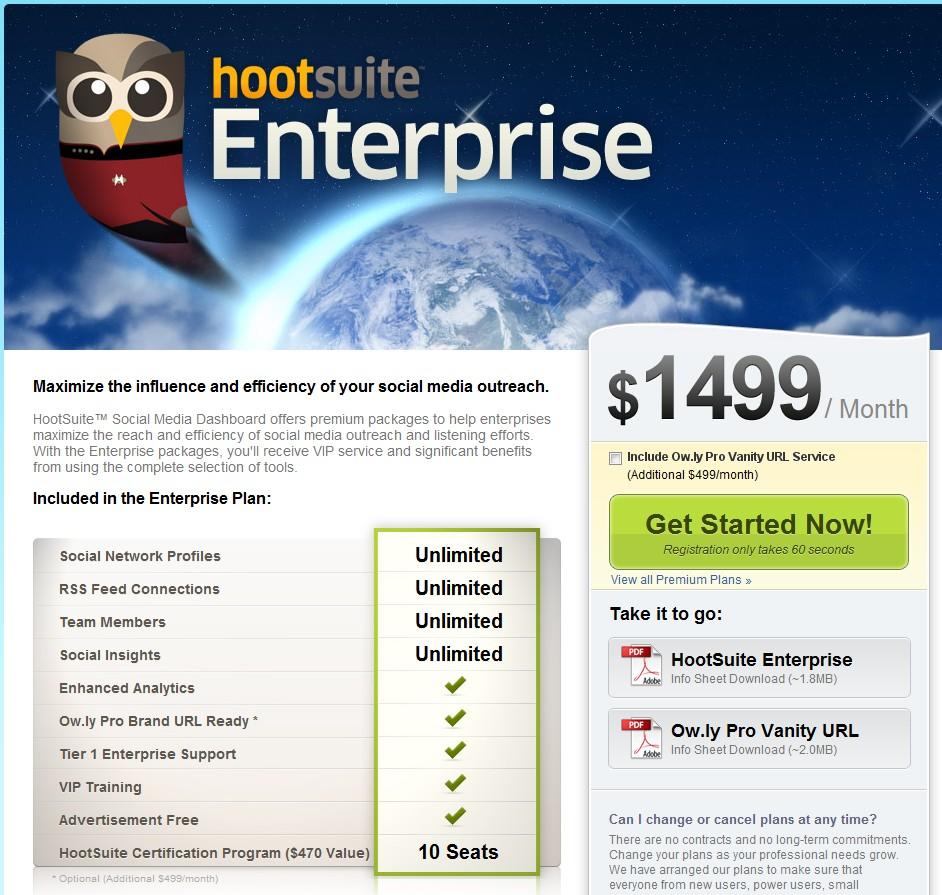hootsuite enterprise, URL shortener ow.ly
