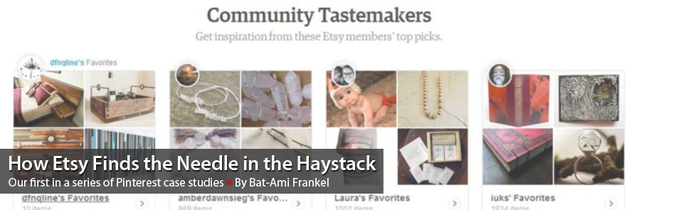 Pinterest Case Study: How Etsy Finds the Needle in the Haystack