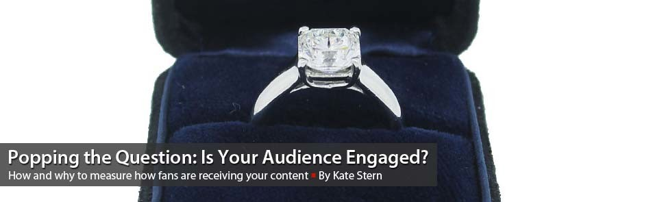 Popping the Question: Is Your Audience Engaged?