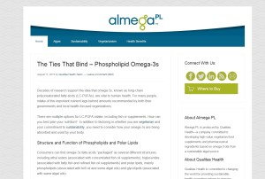 The Almega PL blog: designed, developed and maintained by Pixel/Point Press