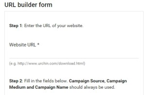 google url builder campaign source medium