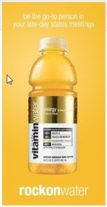 vitaminwater facebook page website, replace website with facebook page